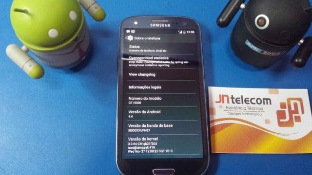 Galaxy S3 kit kat 4.4