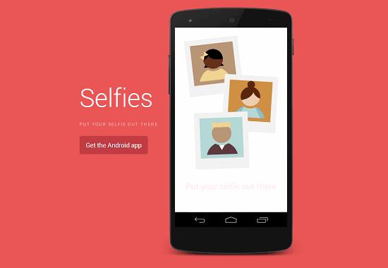"Android – Surge um novo App específico para tirar ""Selfies"""