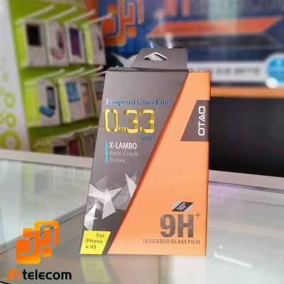 Pelicula protetora de Vidro X-LAMBO OTAO Anti-Crack para iPhone 4/4s